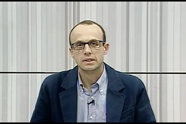 TVCOM Conversas Cruzadas. 1º Bloco. 11.08.16