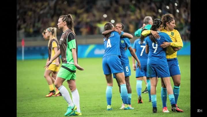 Futebol feminino brasileiro na seminifinal