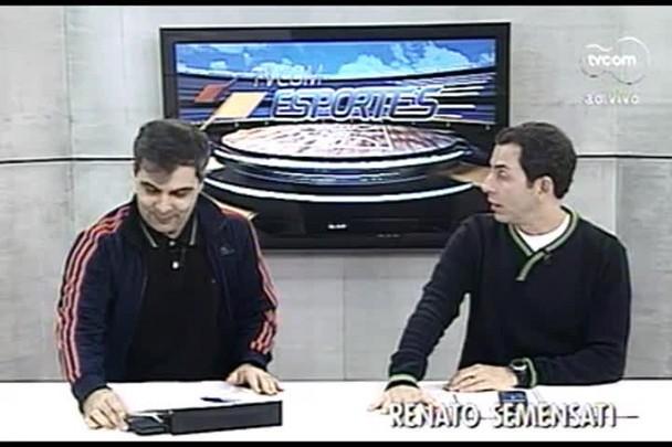 TVCOM Esportes. 1º Bloco. 11.08.16