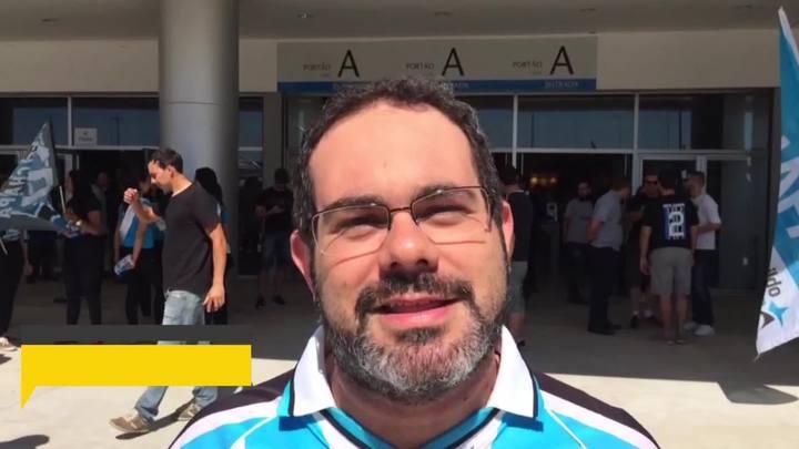 Karlo Johnston pergunta ao novo presidente do Grêmio os planos para as categorias de base