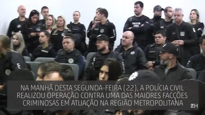 Operação prende integrantes de grupo de extermínio em Porto Alegre