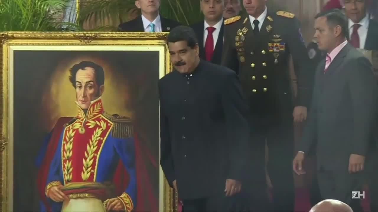 Maduro quer ajuda do papa