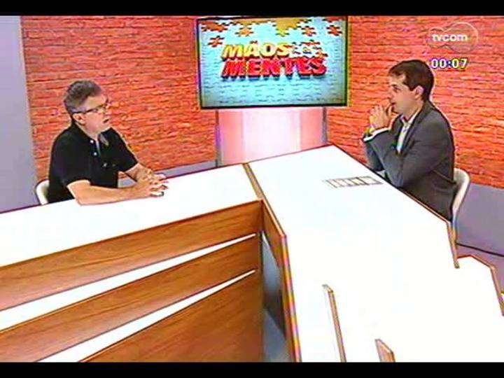 Mãos e Mentes - Membro da Academia Brasileira de Ciências, psiquiatra Flávio Kapczinski - Bloco 4 - 24/01/2013