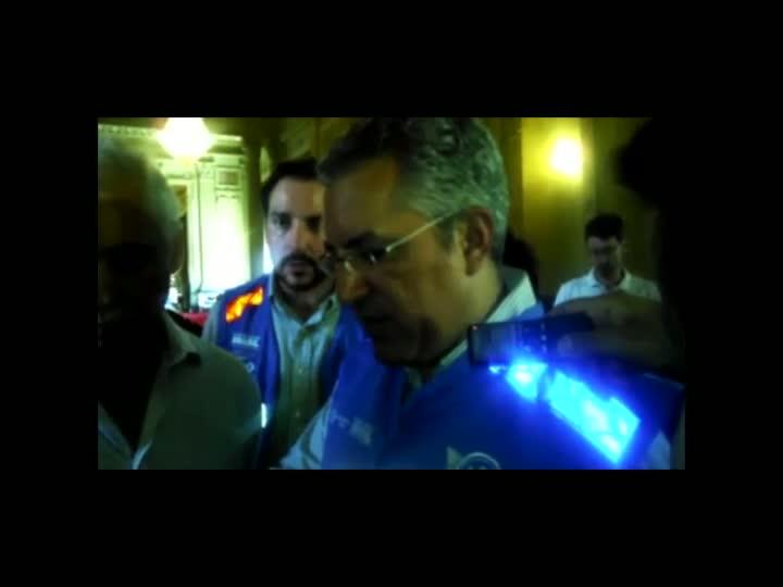 Santa Maria: Ministro da Saúde, Alexandre Padilha, atualiza situação dos feridos. 30/01/2013