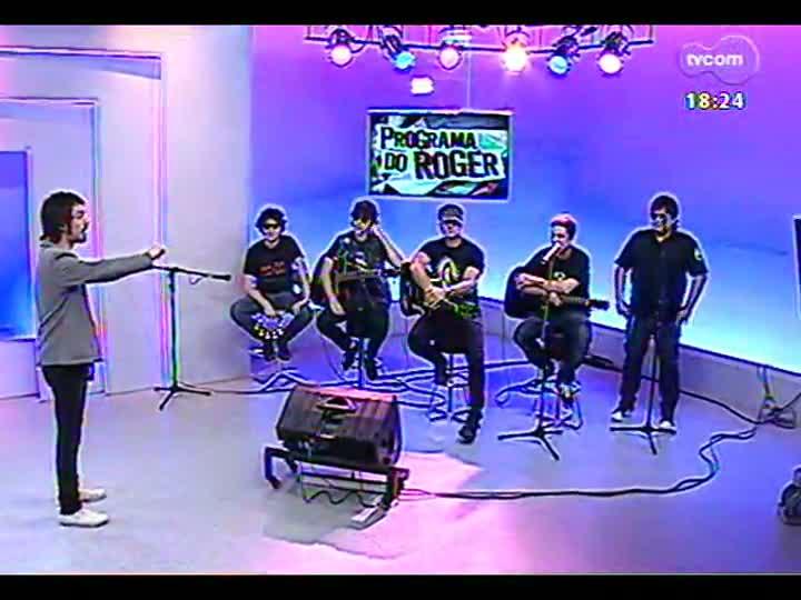 Programa do Roger - Confira a participação da banda Tequila Baby - bloco 4 - 06/02/2013