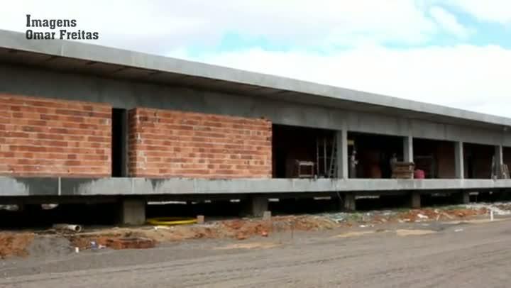 Veja como está a construção do novo CT do Grêmio, nas proximidades da Arena