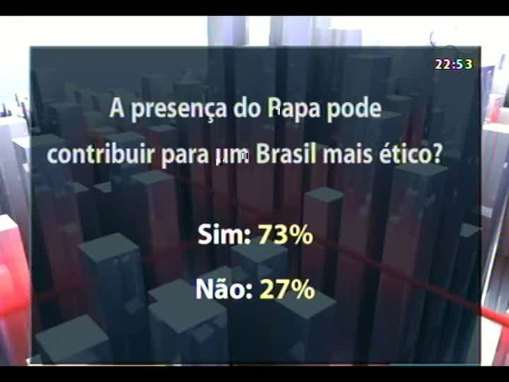 Conversas Cruzadas - No quarto dia da visita do Papa Francisco ao Brasil, o Conversas Cruzadas busca avaliar as mensagens deixadas pelo pontífice - Bloco 3 - 25/07/2013
