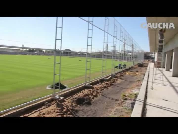 Por dentro do CT do Grêmio: Centro de Treinamentos terá até piscina de ondas - 20/08/2013