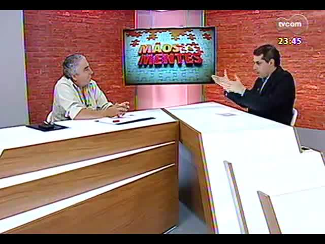 Mãos e Mentes - Leiloeiro rural e diretor da Trajano Silva Remates, Marcelo Silva - Bloco 2 - 29/10/2013