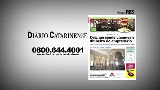 Chamadas Diário Catarinense 20 de novembro de 2013