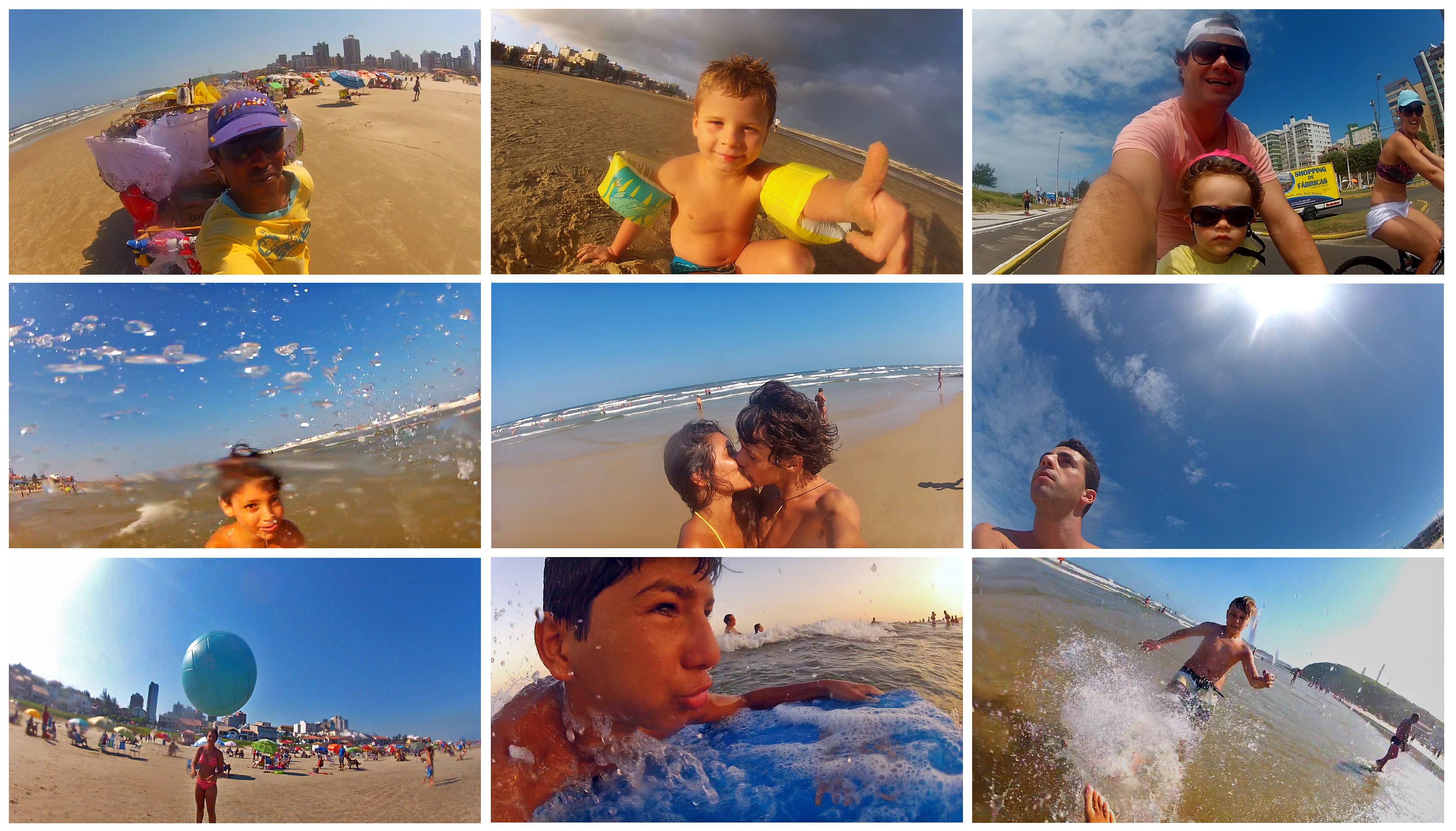 Selfie do verão: o que movimenta a praia na estação mais quente do ano