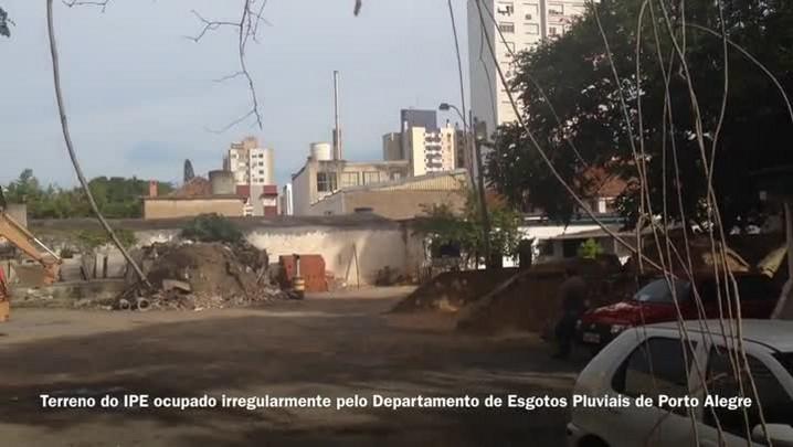 Imóveis do IPE invadidos e ocupados irregularmente - 28/03/2014