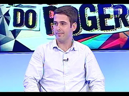 Programa do Roger - Eduardo Argenta, organizador festival Dança Porto Alegre + Seu Cuca - Bloco 2 - 15/05/2014
