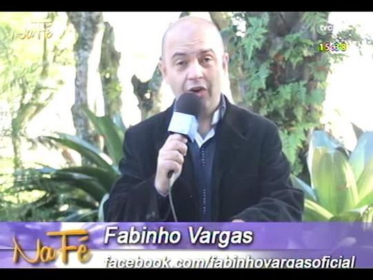 Na Fé - Clipes de música gospel e bate-papo com Miguel Vieira - 08/06/2014 - bloco 3