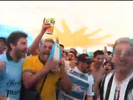 TVCOM 20 Horas - Invasão argentina e a preparação das seleções para o jogo na capital - Bloco 1 - 24/06/2014