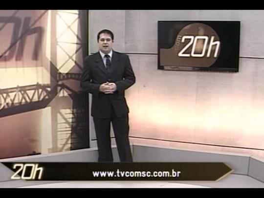 TVCOM 20 Horas - Licitação para novos táxis em Florianópolis deve ser lançada na primeira semana de julho - Bloco 2 - 25/06/14