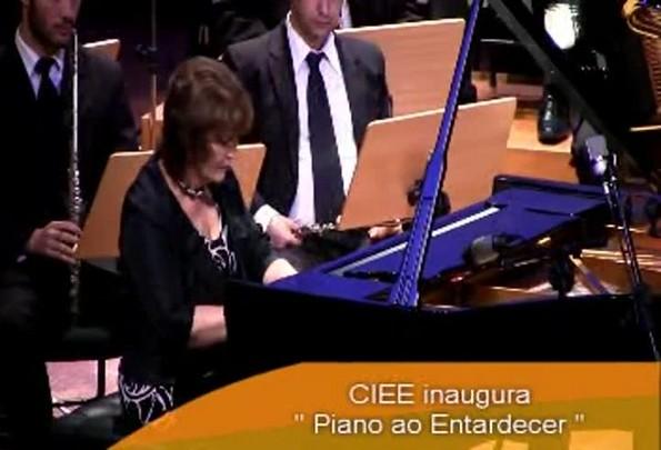 CIEE inaugura série Piano ao Entardecer