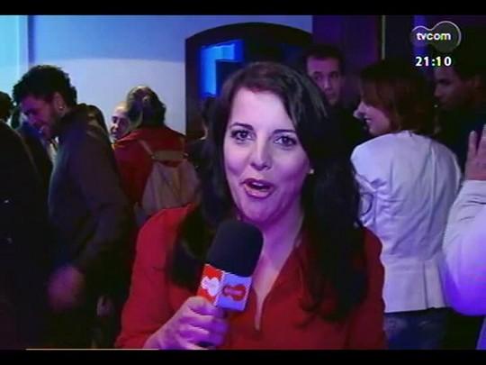 TVCOM Tudo Mais - Tanira Lebedeff entrevista Luciano Alabarse no POA em Cena