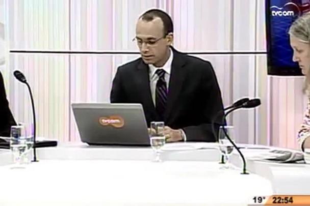 Conversas Cruzadas - Terra indígena do Morro dos Cavalos : preservação ou moeda de troca? - 4º Bloco - 12/08/14