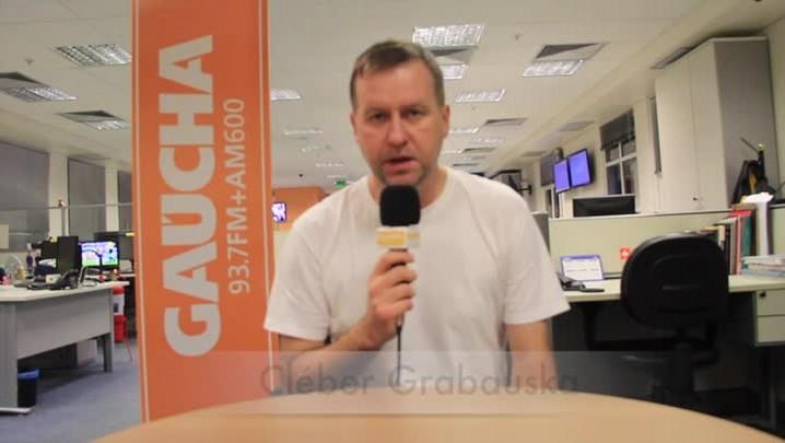 Cléber Grabauska projeta a partida entre Grêmio e Bahia