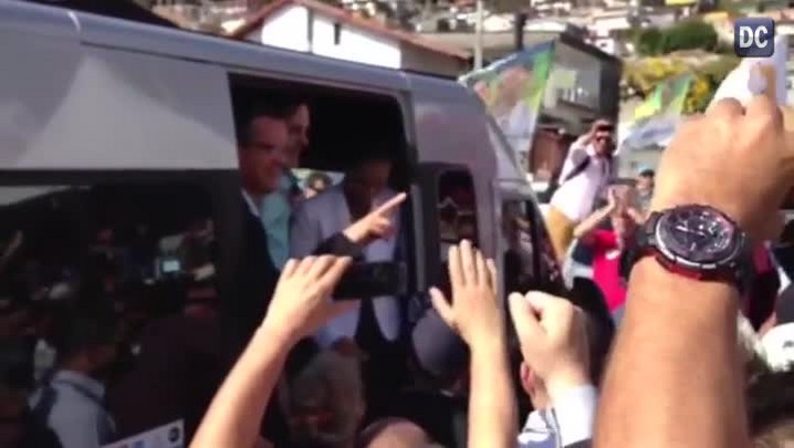 Marina Silva chega a Florianópolis