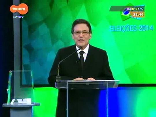 Eleições 2014 - Debate entre candidatos a vice - bloco 2