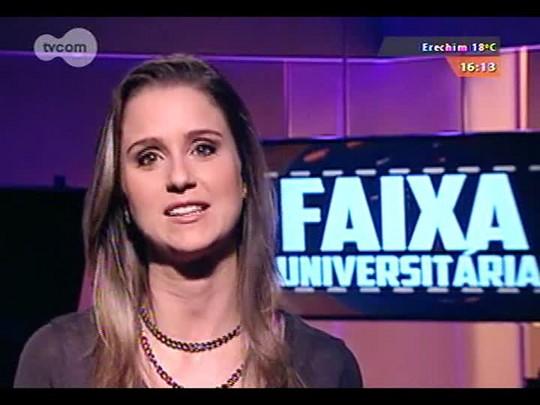 Faixa Universitária - Documentário \'Crônicas da Ditadura\', dos alunos da Unijuí