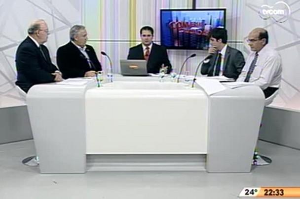 Conversas Cruzadas - Obra na ponte Hercílio Luz mais uma vez embargada - 2ºBloco - 01.12.14