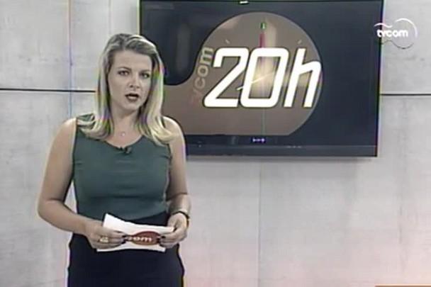 TVCOM 20h - MPL organiza primeira manifestação contra aumento da tarifa - 13.1.15