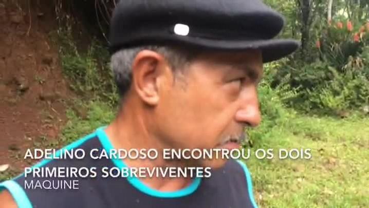 Agricultor conta como socorreu os primeiros feridos em acidente em Maquiné