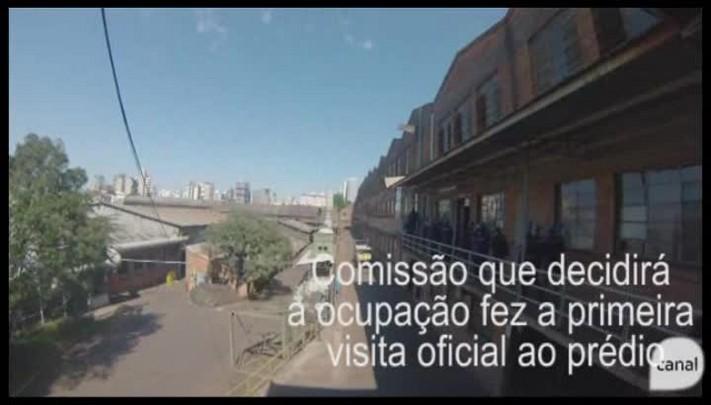 Comissão especial faz primeira visita oficial ao prédio da Maesa, em Caxias do Sul