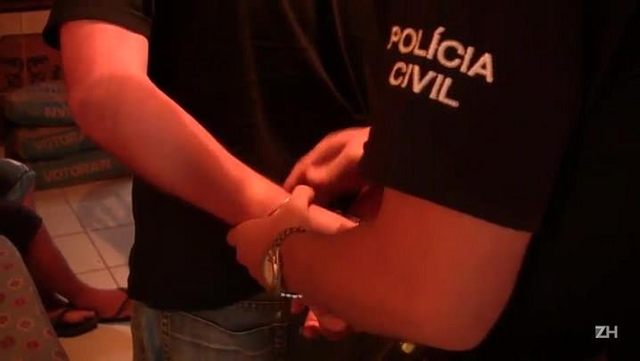 Operação Corrente: Polícia Civil prende cinco suspeitos de tráfico em Camaquã