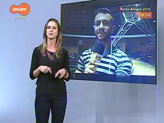 #PortoA - Fernando Muniz fala direto da Maratona de Dança de Porto Alegre - 29/03/2015