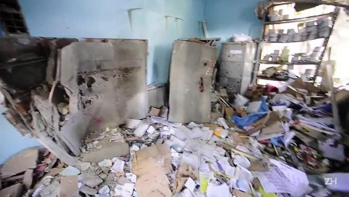 Assaltantes explodem cofre de cooperativa em Nova Santa Rita