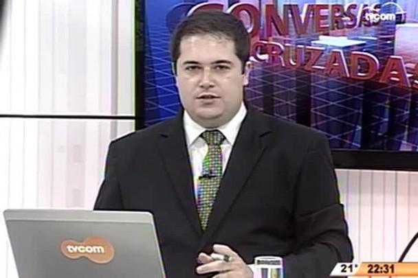 Conversas Cruzadas - Morte do senador Luiz Henrique da Silveira - 2º Bloco - 11.05.15