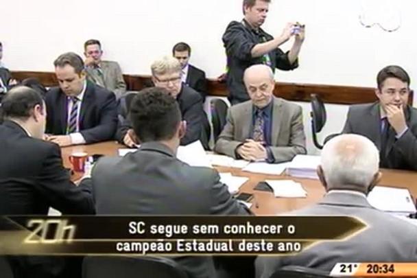 TVCOM 20 Horas - SC segue sem conhecer o campeão Estadual deste ano - 15.05.15