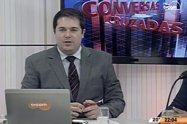 Conversas Cruzadas - Criminalidade no Monte Cristo - 1º Bloco - 03.06.15