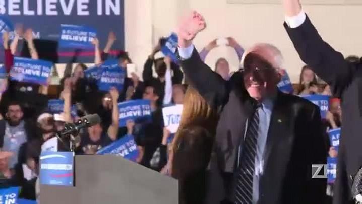 Trump e Sanders vencem primárias de New Hampshire