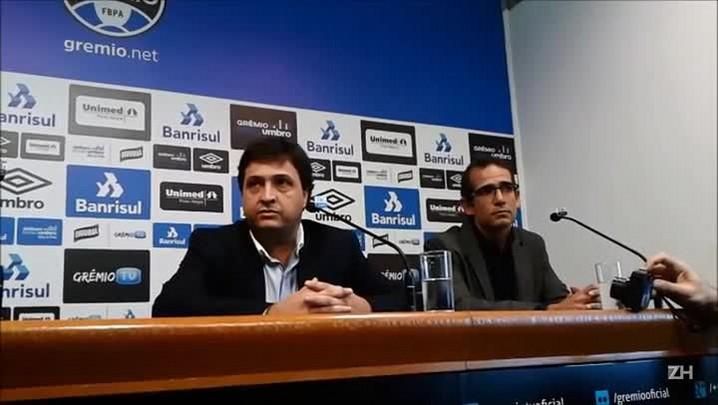 Alberto Guerra explica as atribuições no Grêmio
