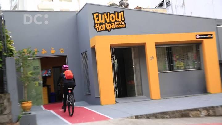 Empresa com conceito park'n shower incentiva a bicicleta como meio de transporte para ir trabalhar