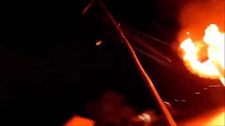 Incêndio atinge casa da diretora do presídio de Júlio de Castilhos