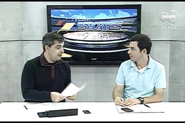 TVCOM Esportes. 2º Bloco. 17.08.16