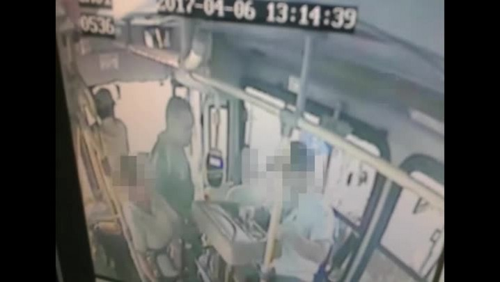 Imagens mostram um dos assaltos a linha T9