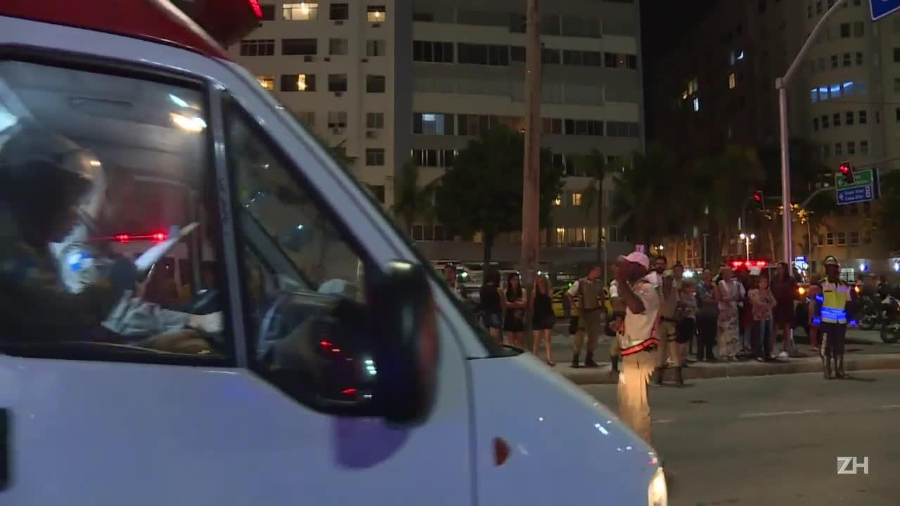 Motorista que atropelou pedestres no Rio diz ser epilético