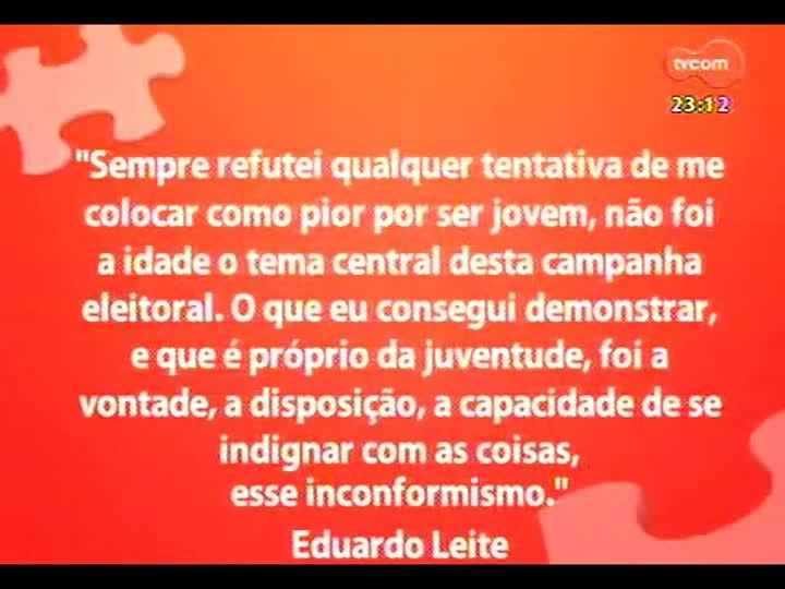 Mãos e Mentes - Eduardo Leite - Bloco 2