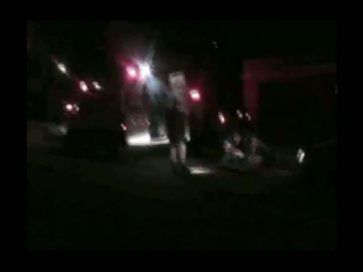 Imagens do resgate do SAMU