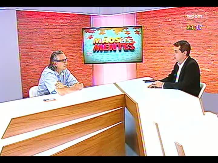 Mãos e Mentes - diretor e roteirista cinematográfico Carlos Gerbase - Bloco 2 - 29/01/2013