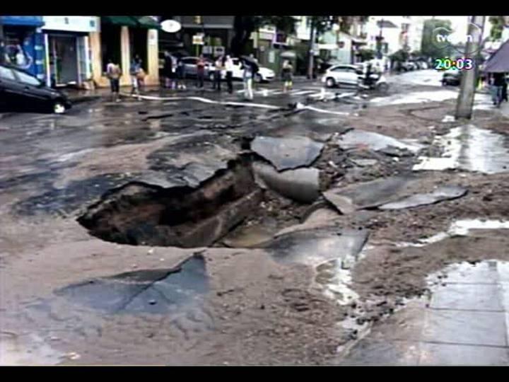 TVCOM 20 Horas - Consequências da chuvarada - Bloco 1 - 20/02/2013