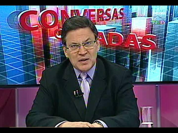 Conversas Cruzadas - Debate acerca do projeto que prevê o tombamento do Olímpico e a adaptação de um centro de eventos no local - Bloco 2 - 26/02/2013