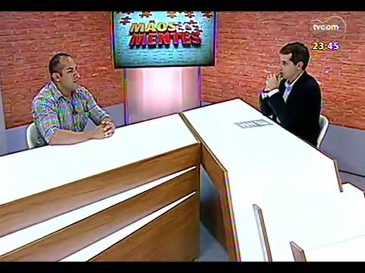 Mãos e Mentes - Coordenador do Programa Institucional de Bolsa de Iniciação à Docência da UFRGS, Samuel Bello - Bloco 2 - 15/03/2013
